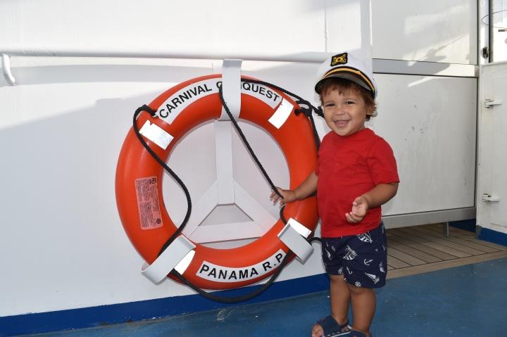 My Son's FirstCruise
